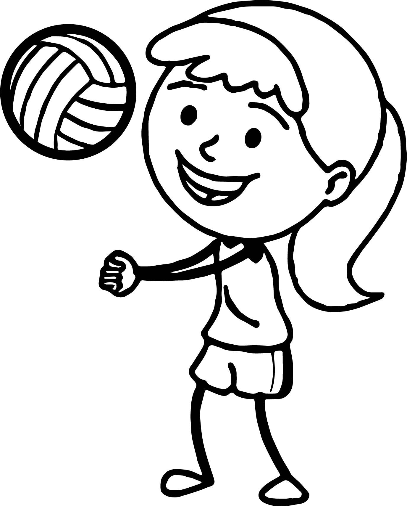 Volleyball Printable