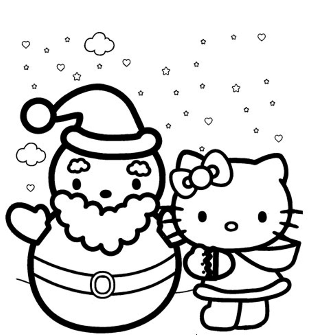 Winter Season Colouring Pages