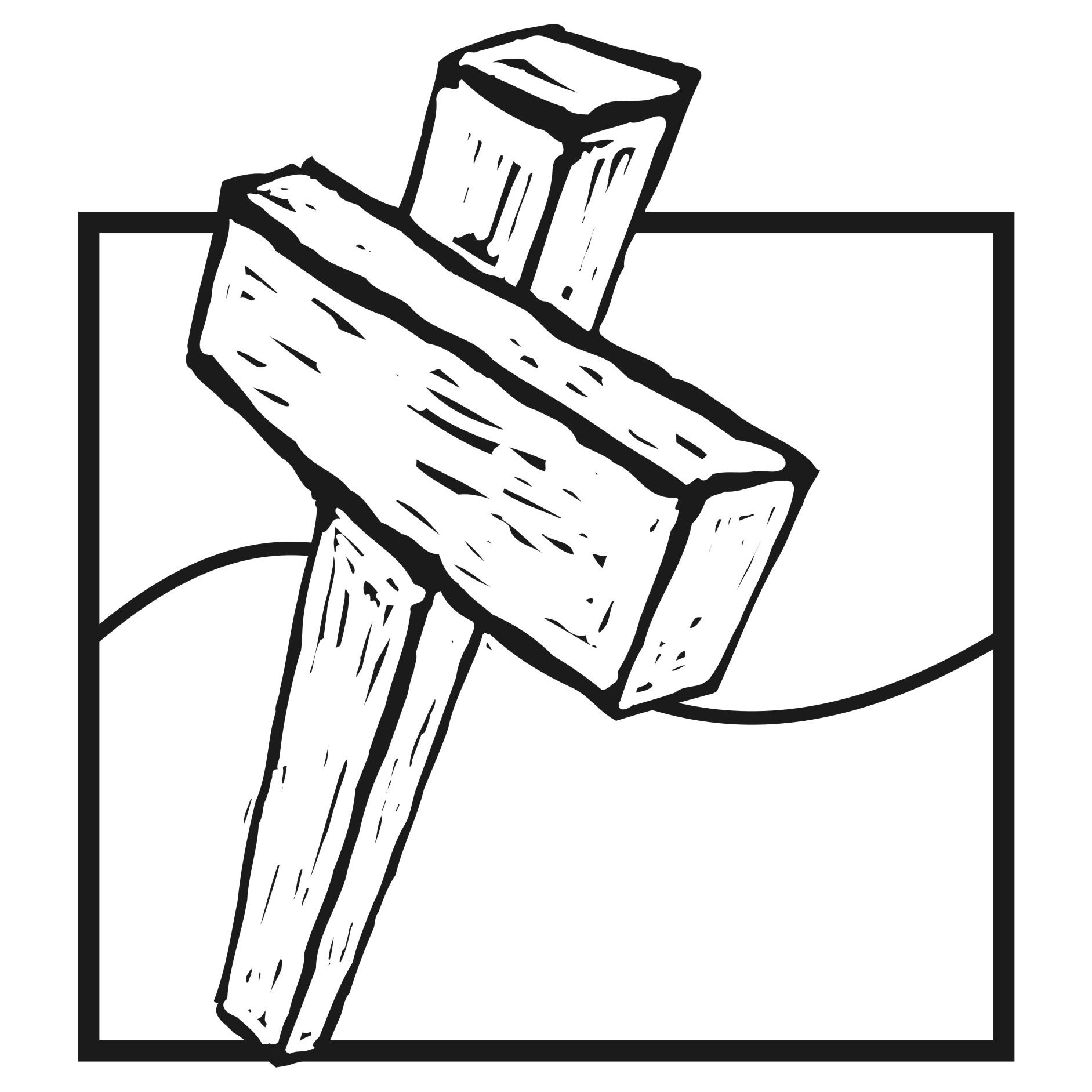 Wood Cross Clipart