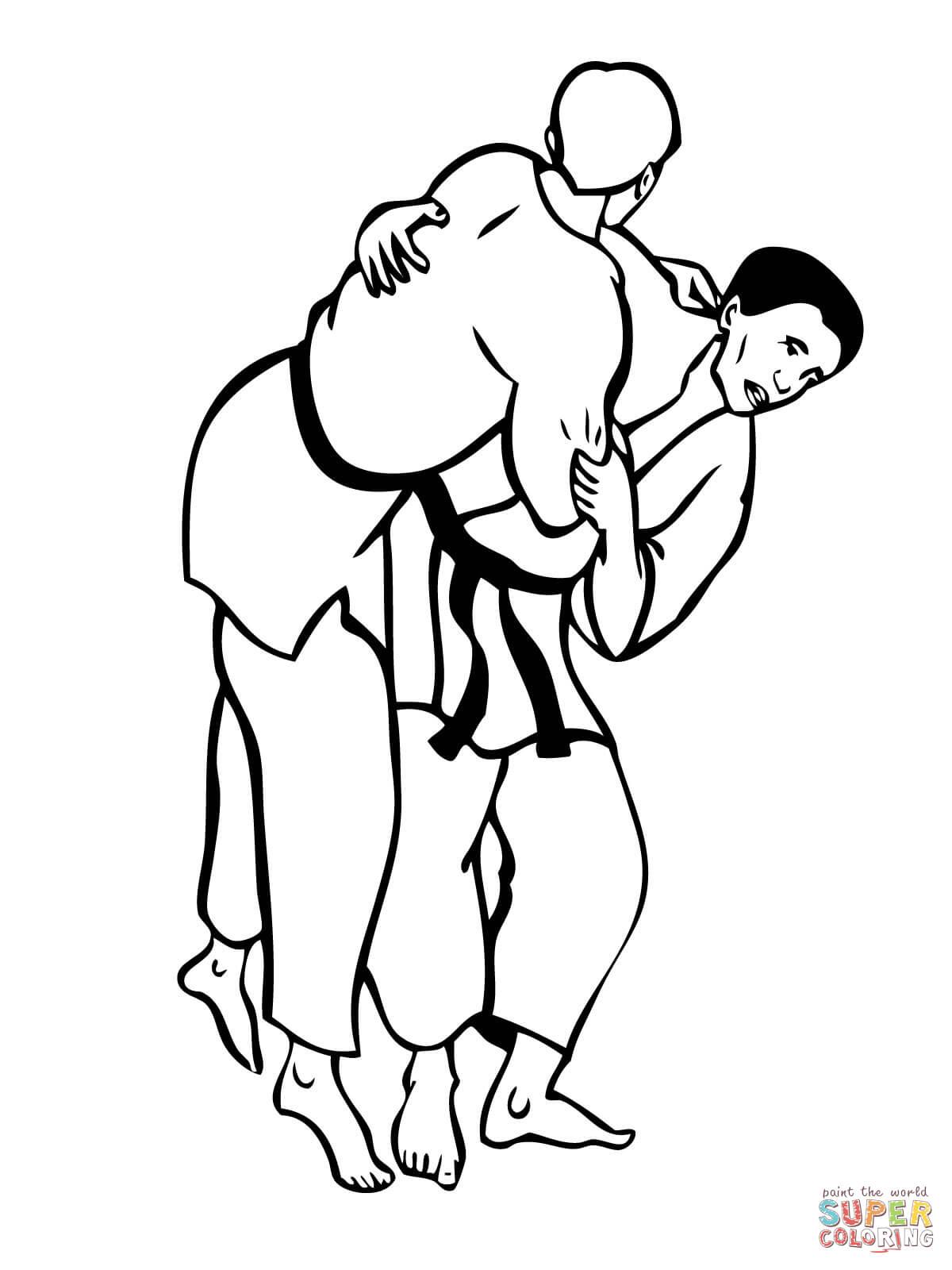 Wrestling Drawings