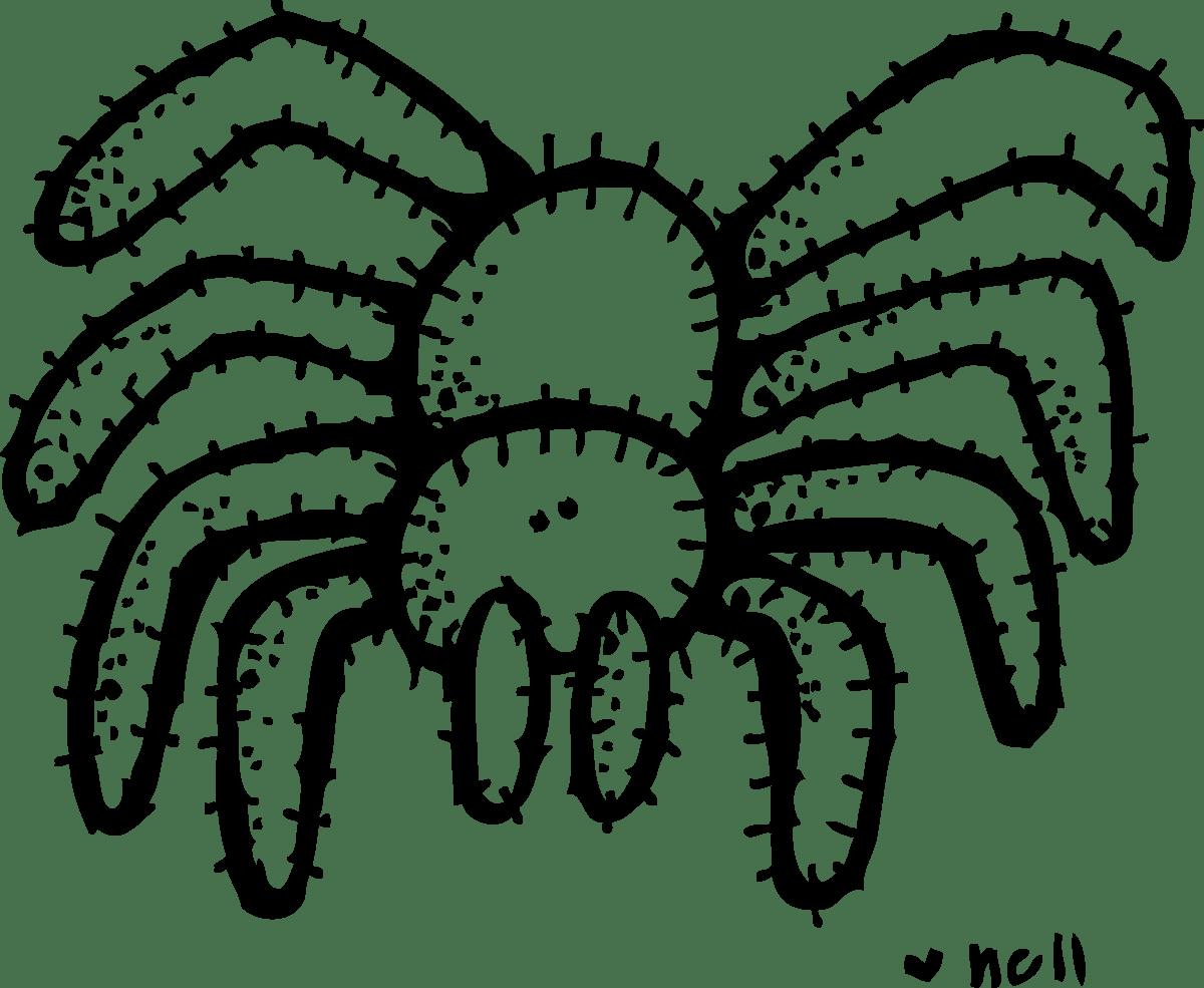 tarantula clipart cliparts co
