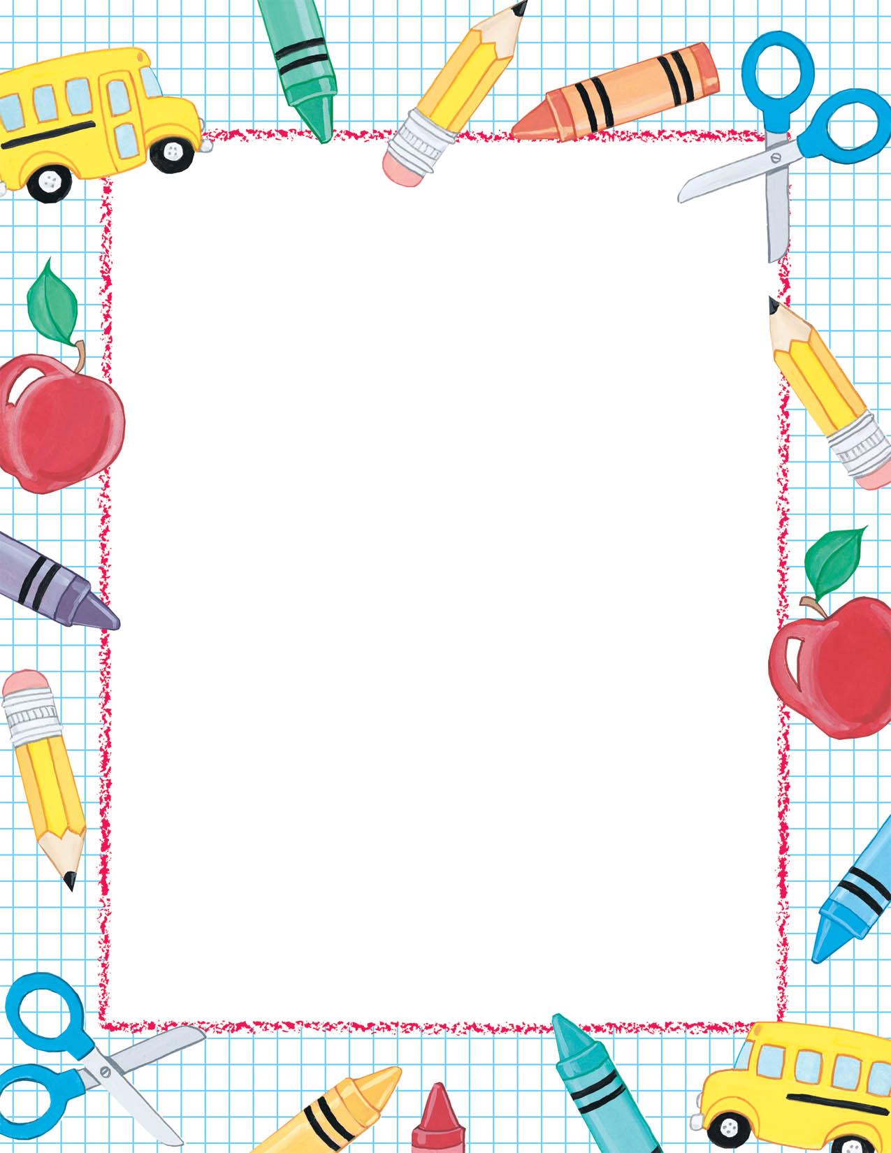 Kids Border Paper