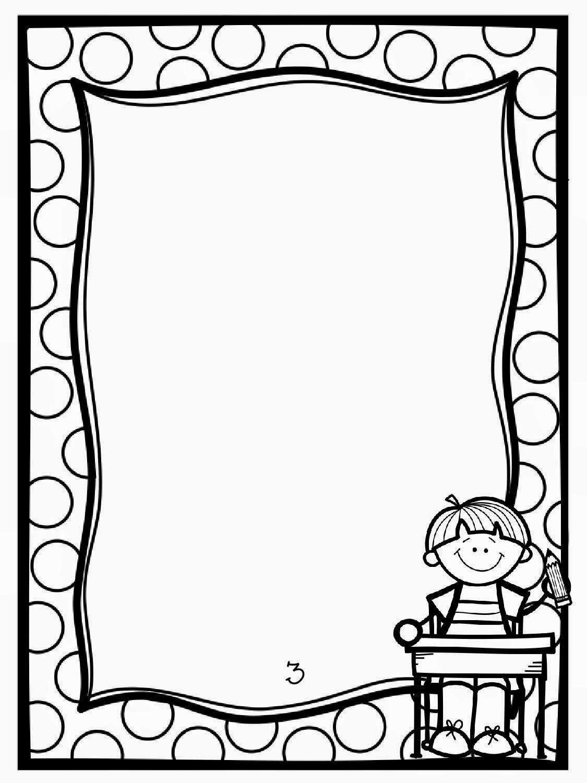 Book Page Border