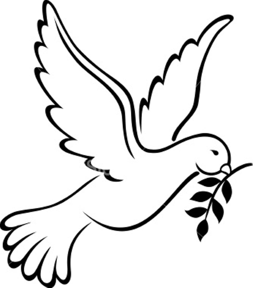 Clip Art Peace Dove