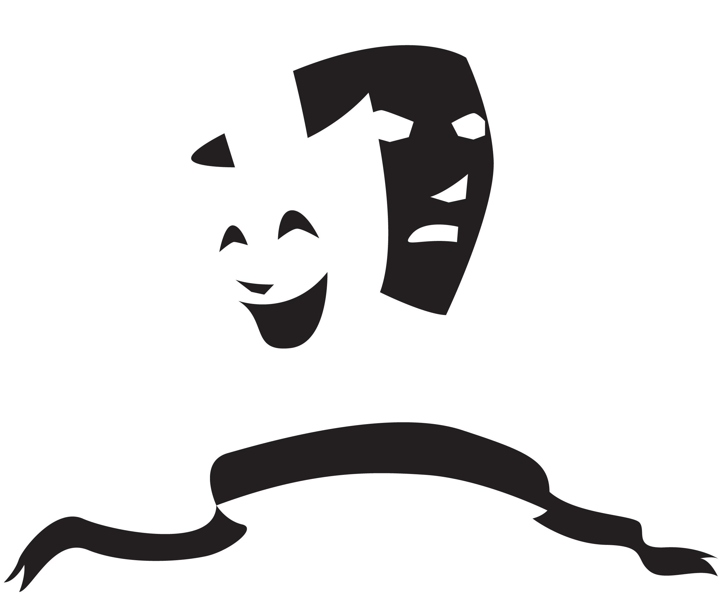 How To Draw Drama Masks