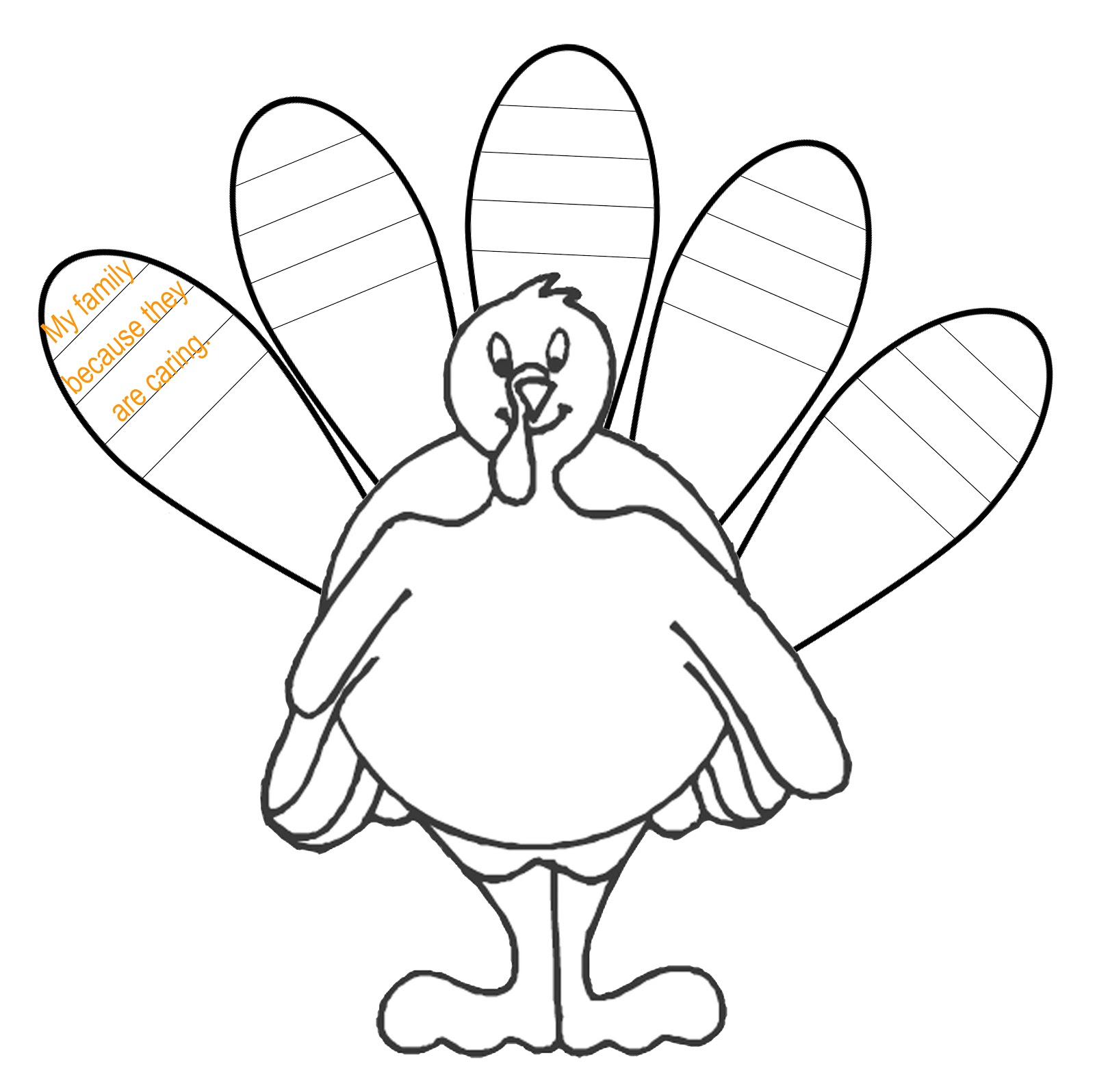 Turkey Feather Clip Art