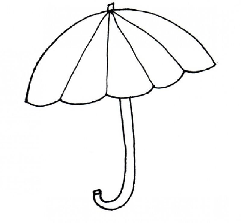 picture regarding Umbrella Template Printable identified as Umbrella Templates Printable. coloring internet pages printable