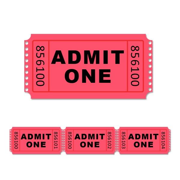Printable Tickets Template printable raffle tickets template free – Printable Tickets Template