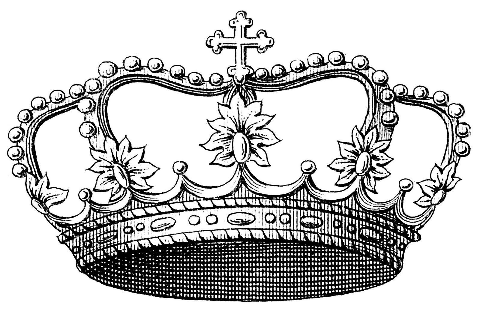 Queen Crown Drawing