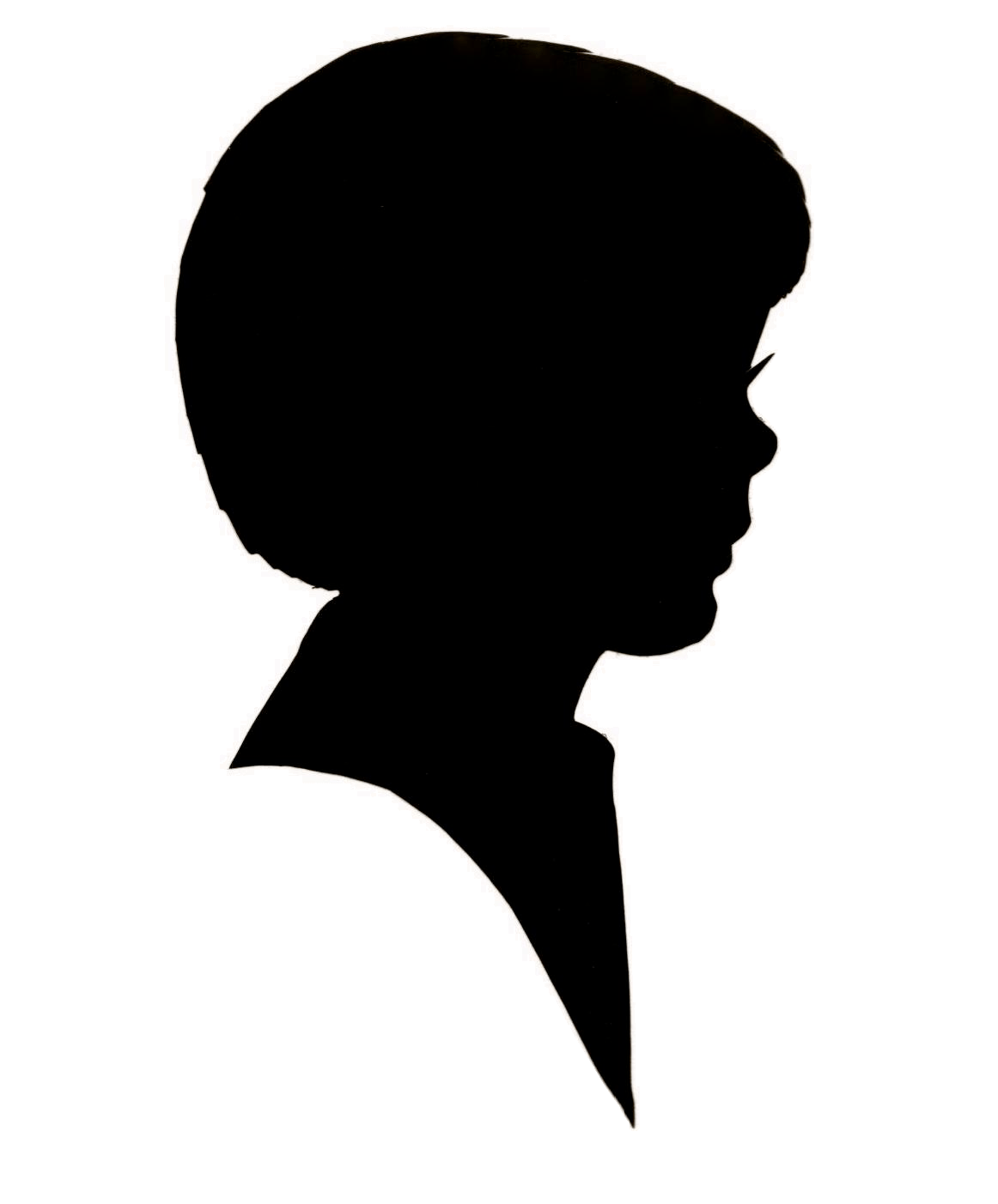 Welcome Silhouette With Mushroom Hairstyle