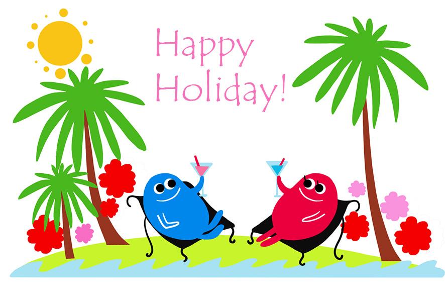 Happy Holidays Clip Art - Cliparts.co (886 x 599 Pixel)