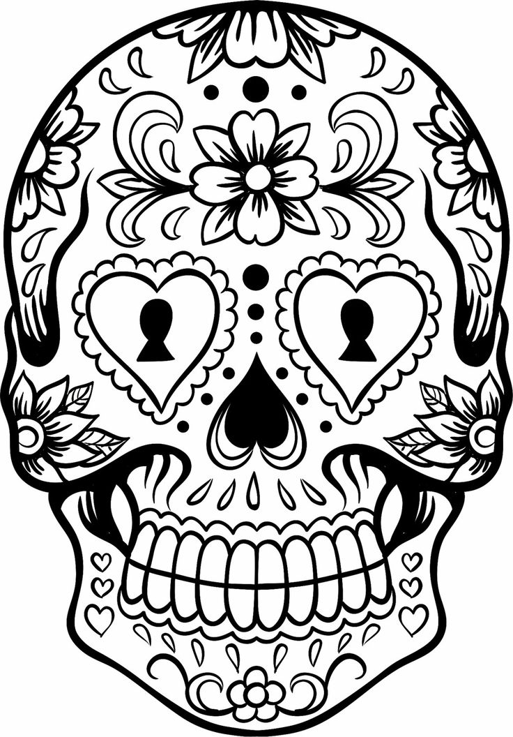 Sugar Skull Clip Art Cliparts Co