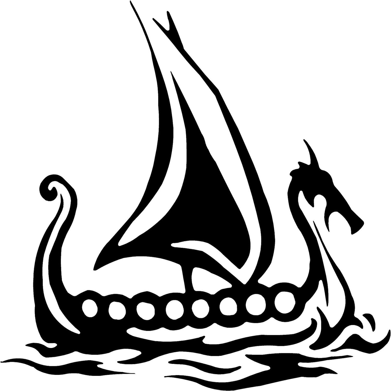 Viking Ship Clip Art
