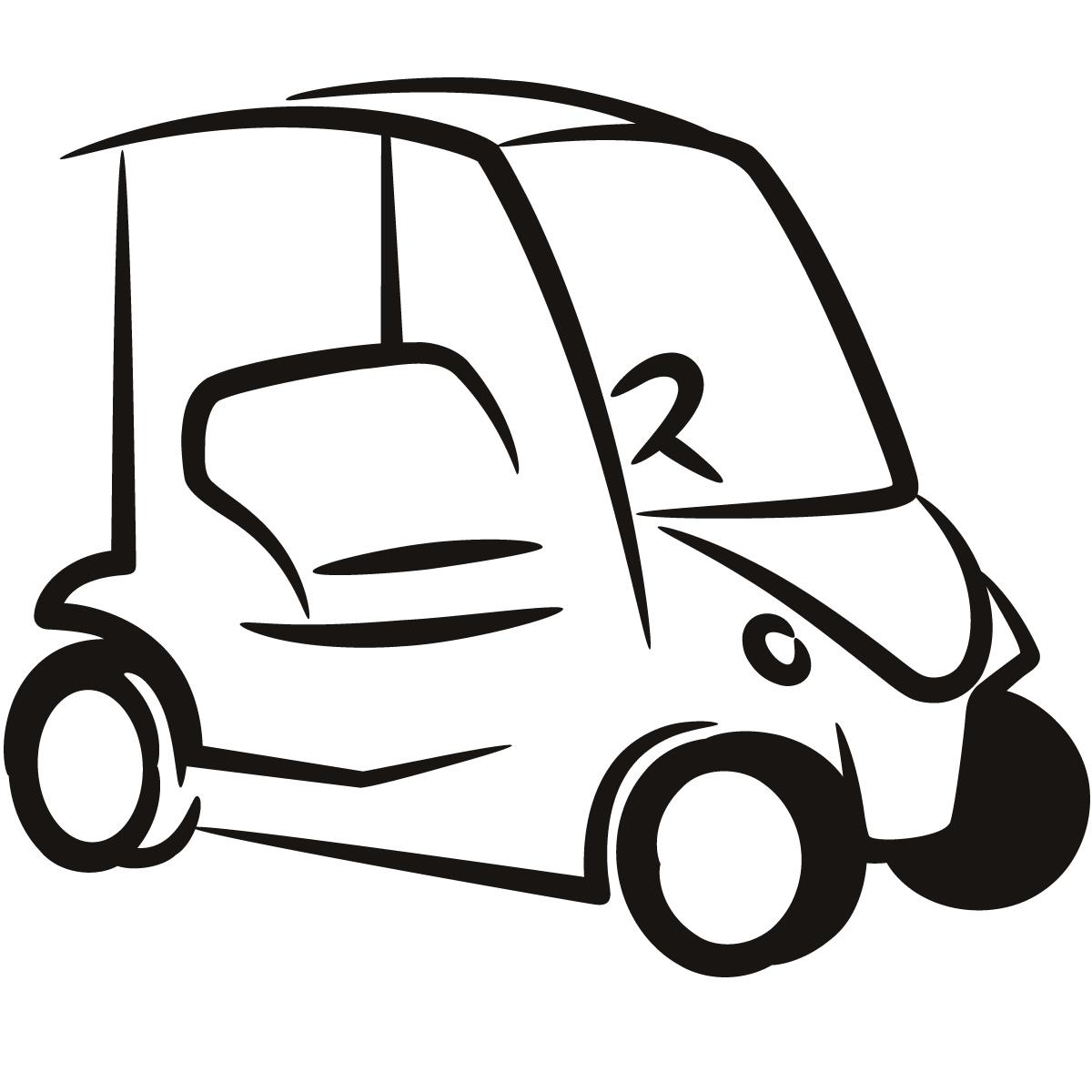 Golf Cart Clip Art