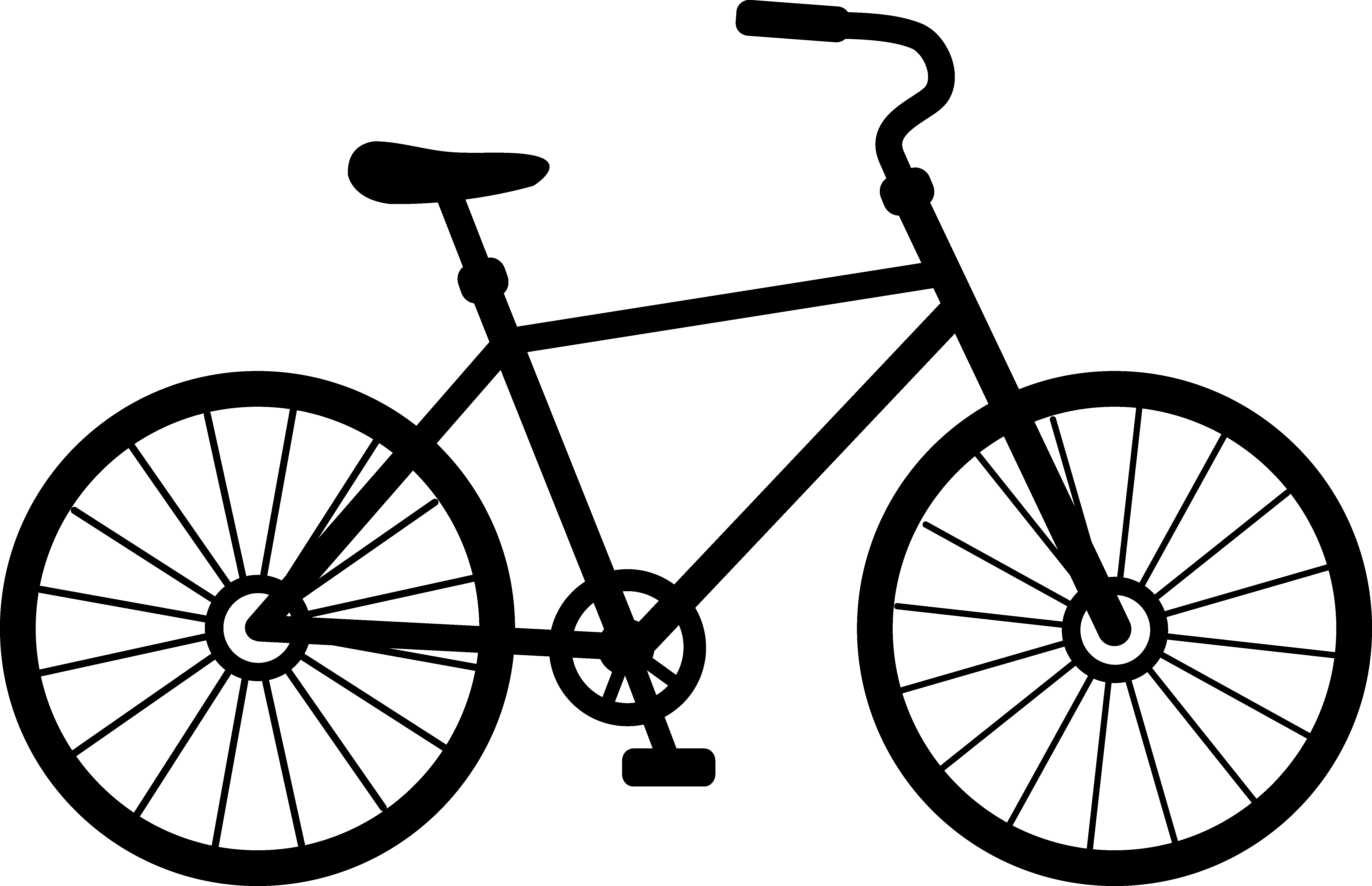 Cartoon Pictures Of Bikes