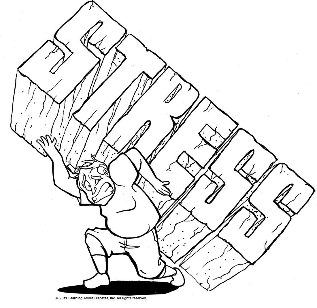 Cartoon Images Of Stress