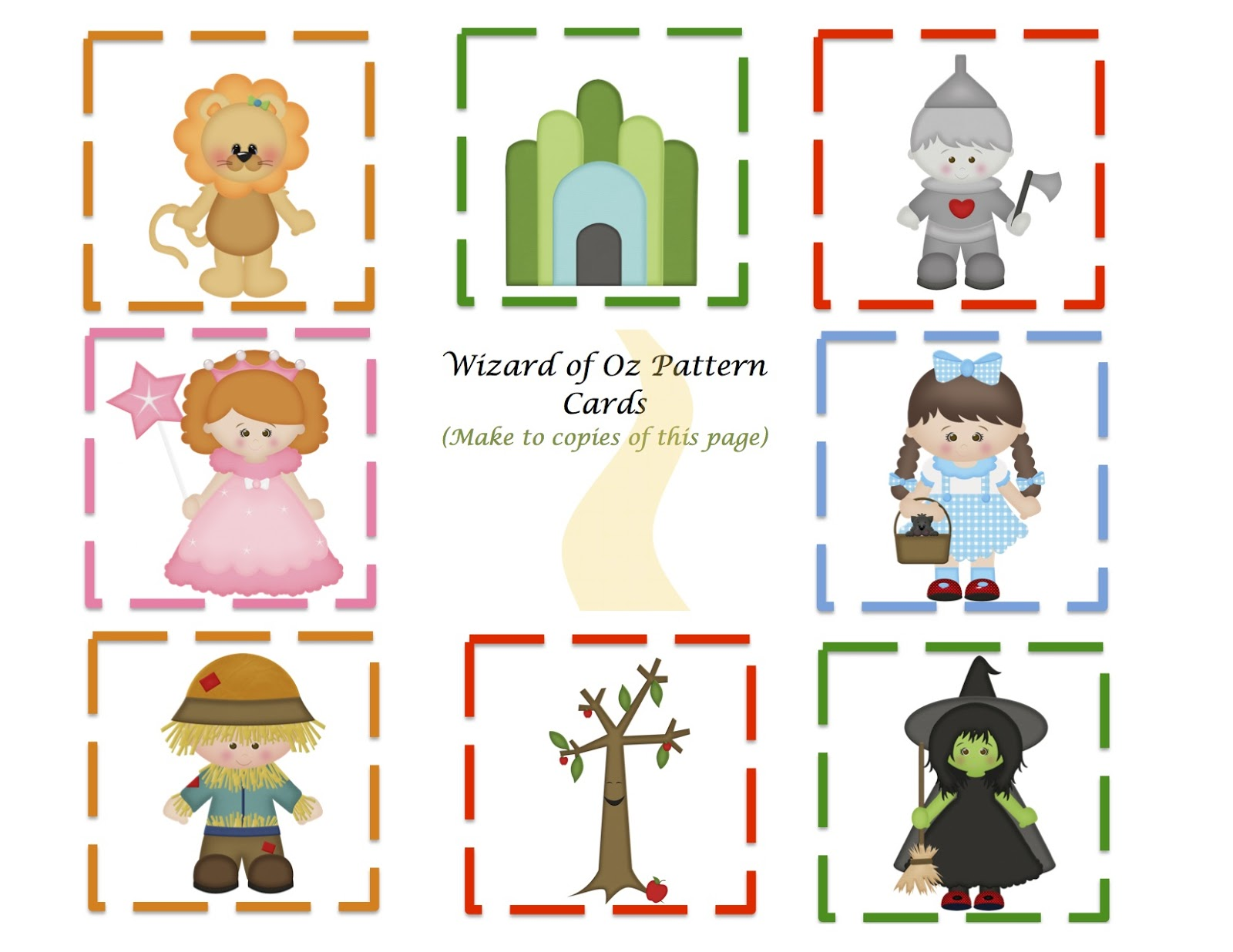 Printable Free Wizard Of Oz Clipart