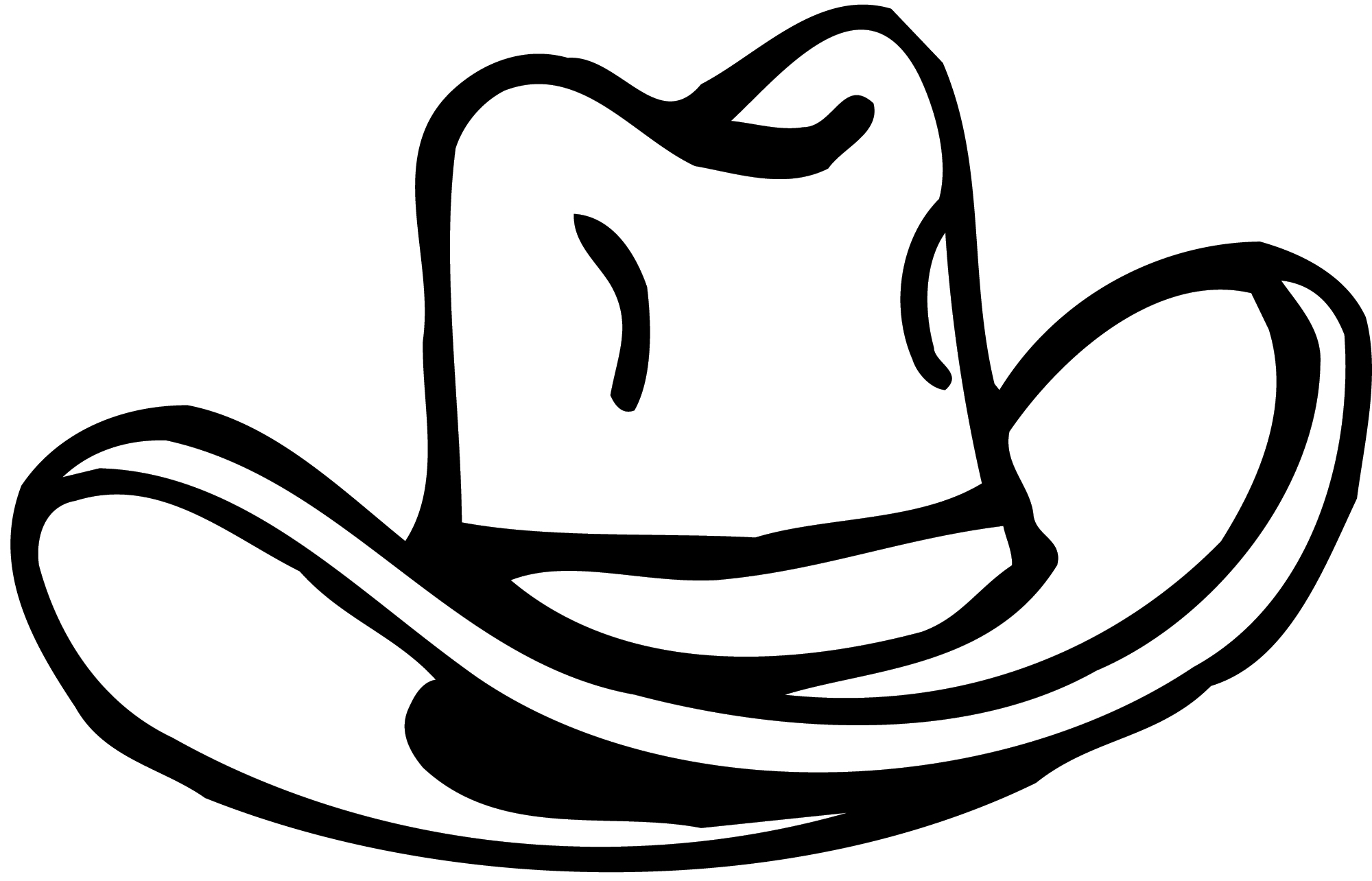 picture of a cowboy hat cliparts co