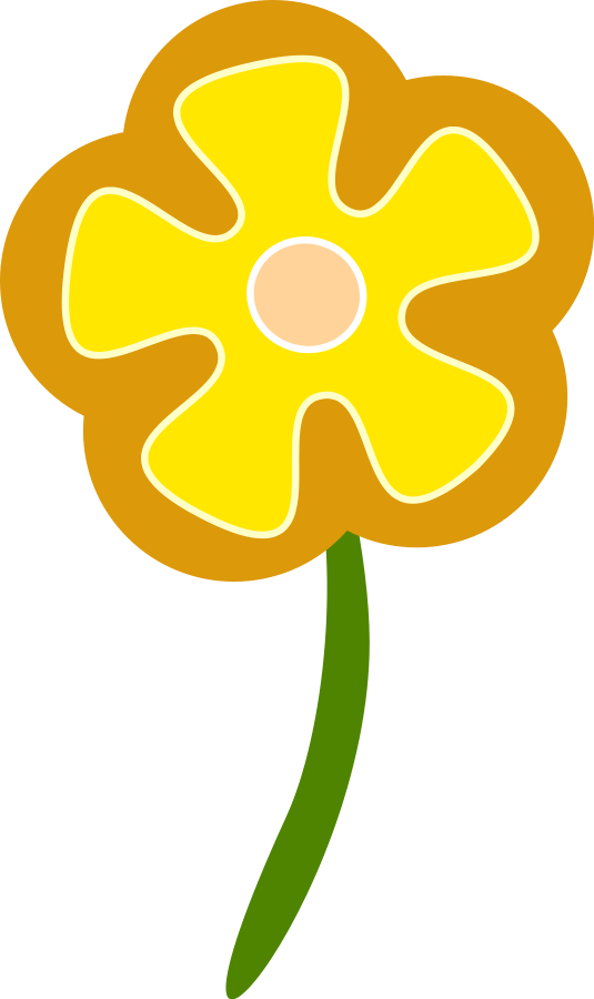 Yellow Flowers Clipart Images & Pictures - Becuo - Cliparts.co (535 x 900 Pixel)