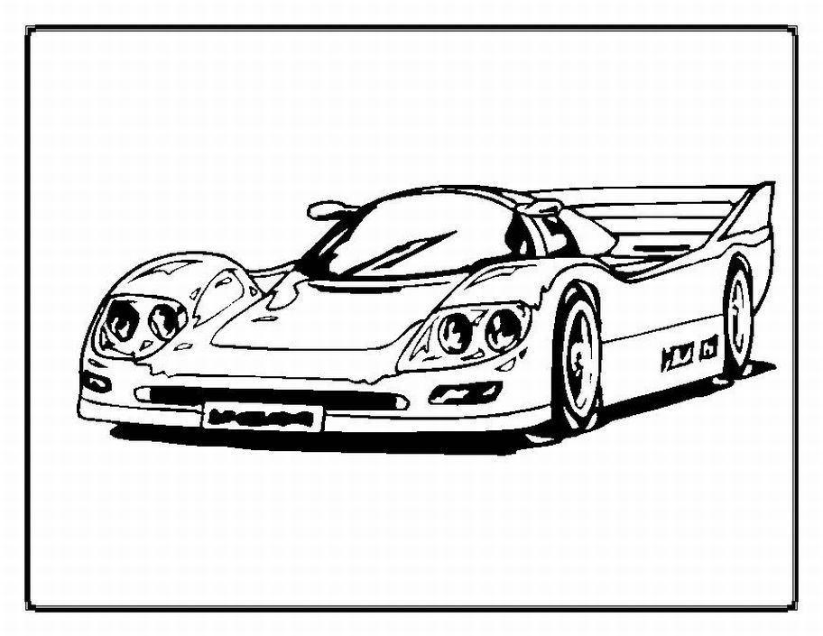 porsche cars coloring pictures 08 cpbkb race cars coloring pages