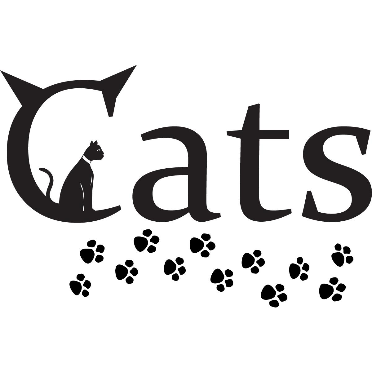 Clip Art Cat Paw Print