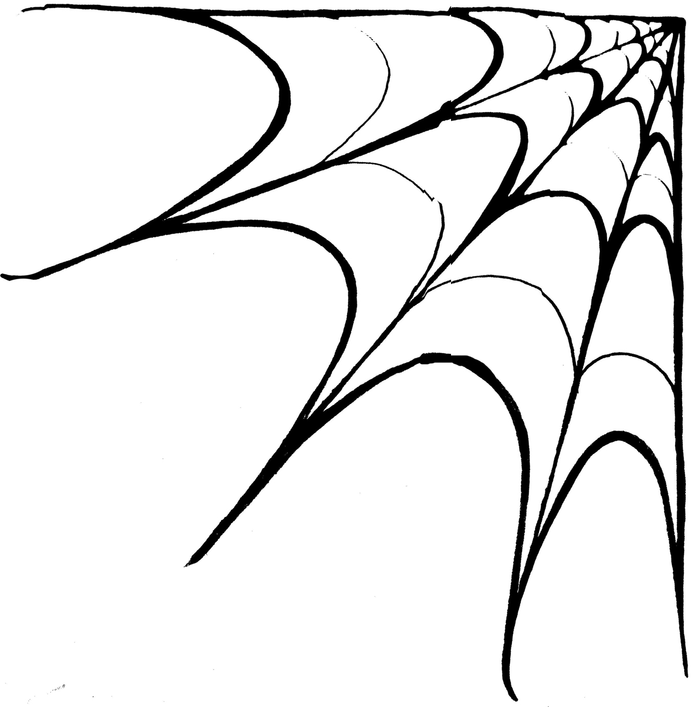 Clip Art Spider Web