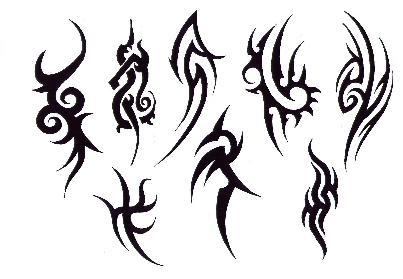 Awesome Tribal Tattoo Drawings Designs