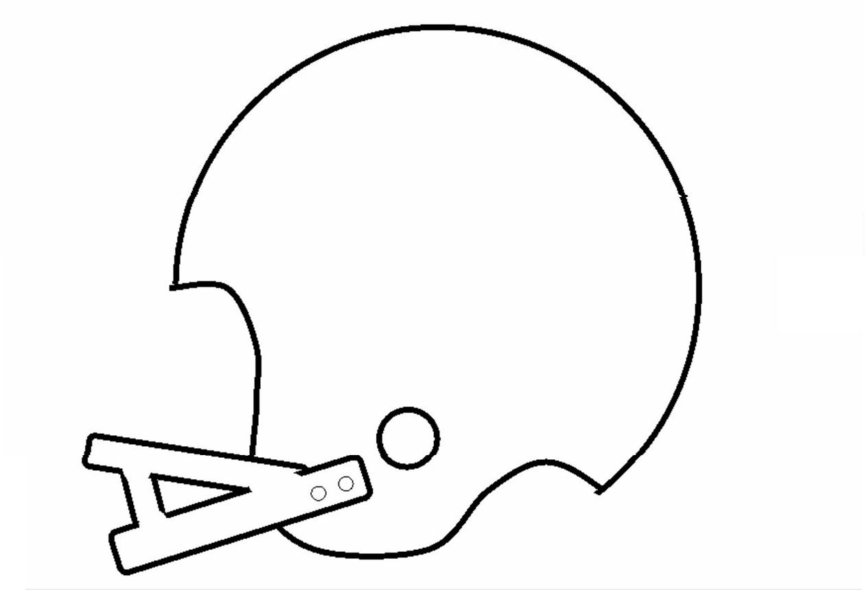 Printable Football Helmets