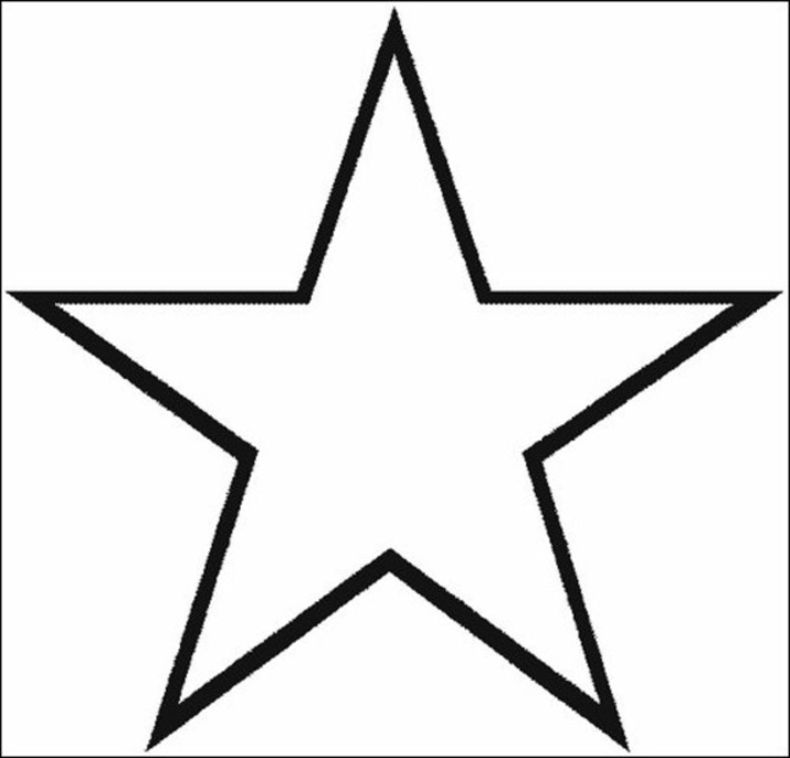 star printable created by diane
