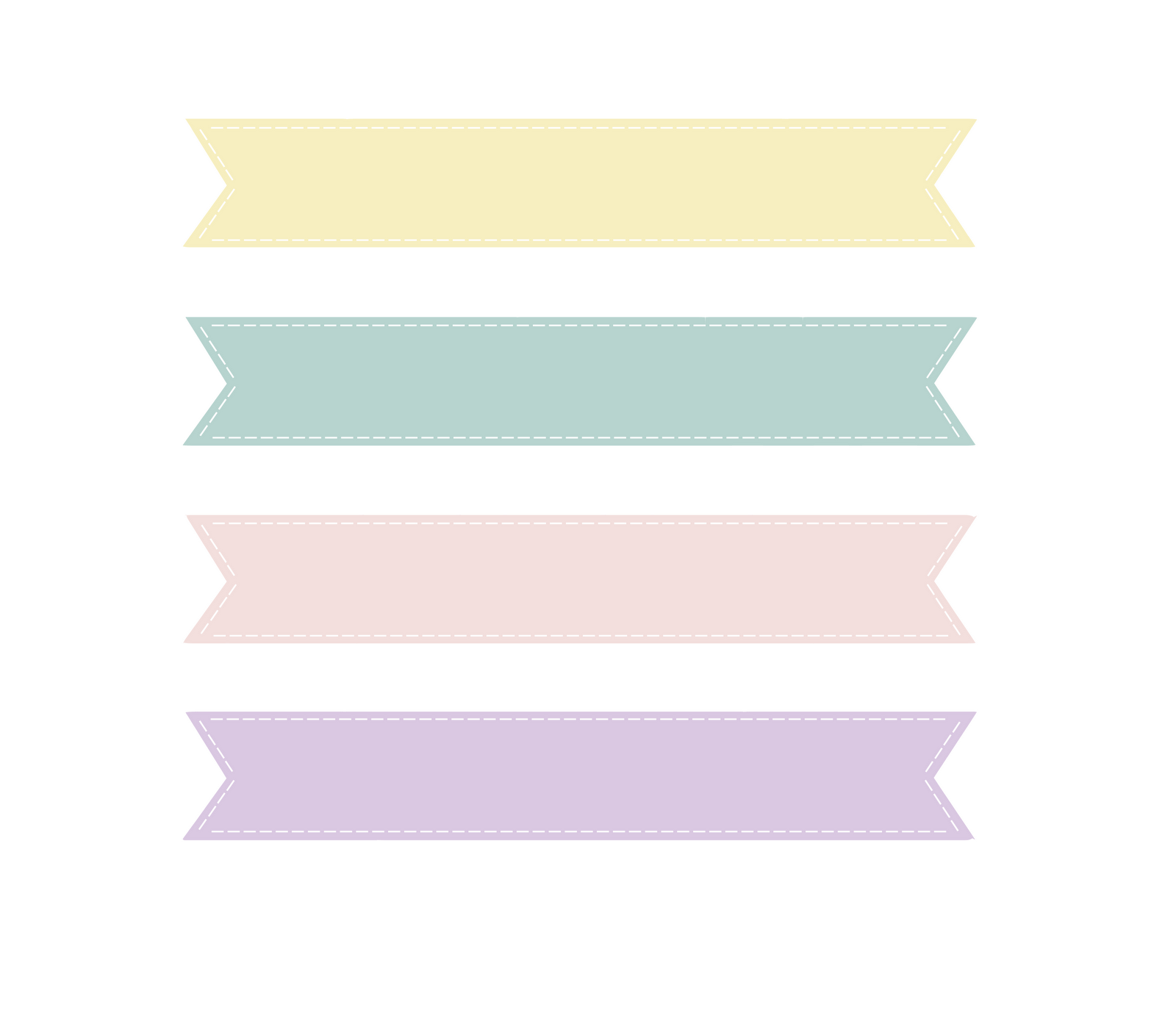 banner clip art coloring pages blog