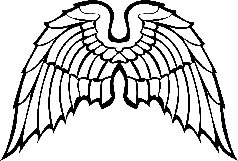 Angel Wing Clip Art