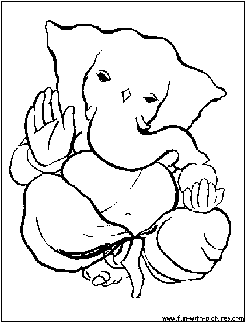 Lord Ganesha Drawing Cliparts Co