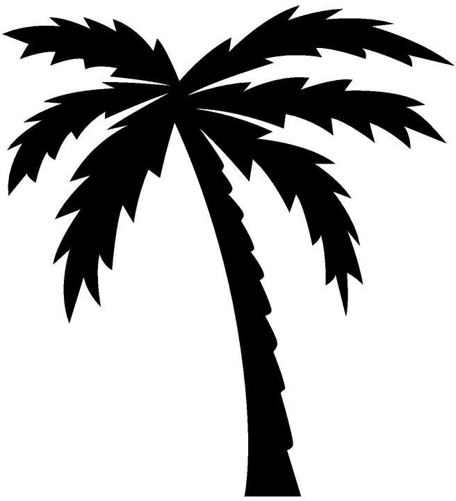 Palm Tree Logo Images - Cliparts.co (656 x 720 Pixel)