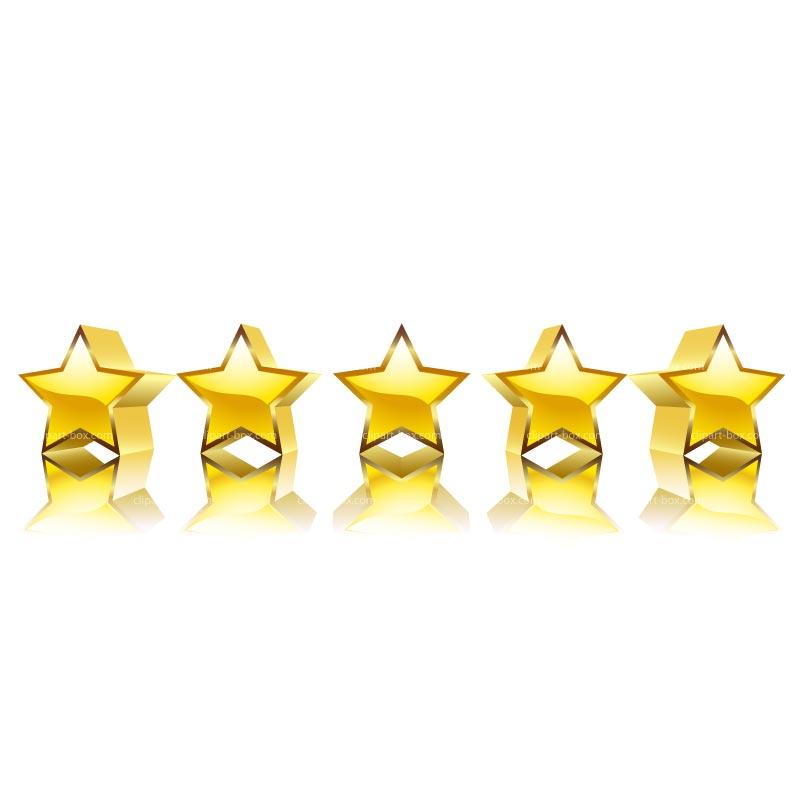 Five Stars - Cliparts.co (800 x 800 Pixel)