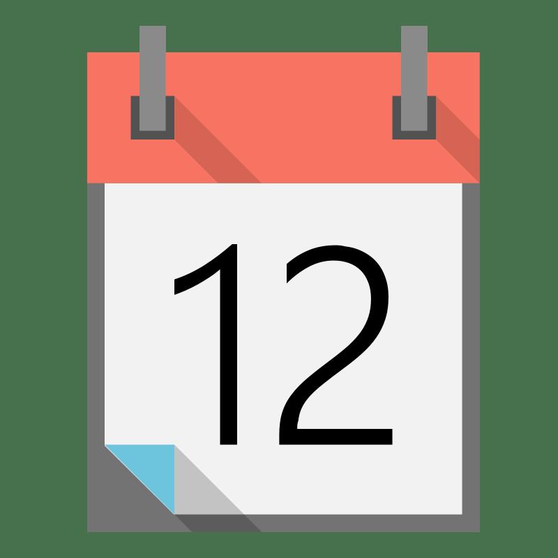 Free to Use & Public Domain Calendar Clip Art