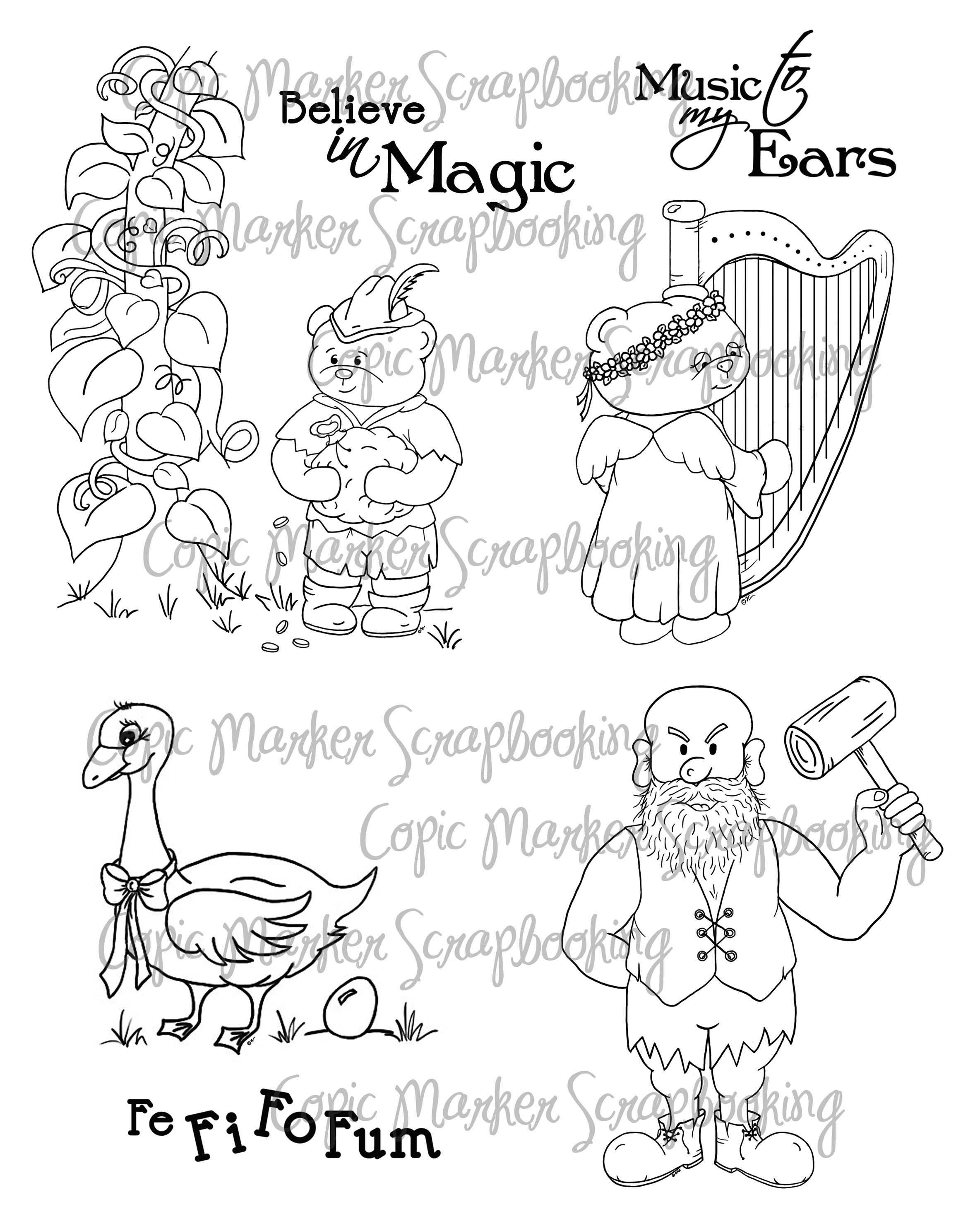 Jack And The Beanstalk Characters