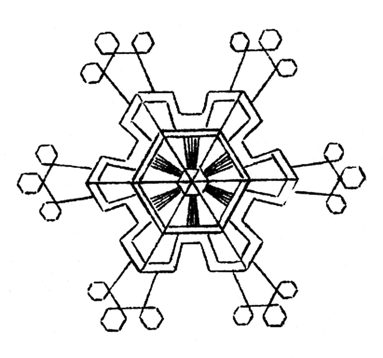 White Snowflake Clipart