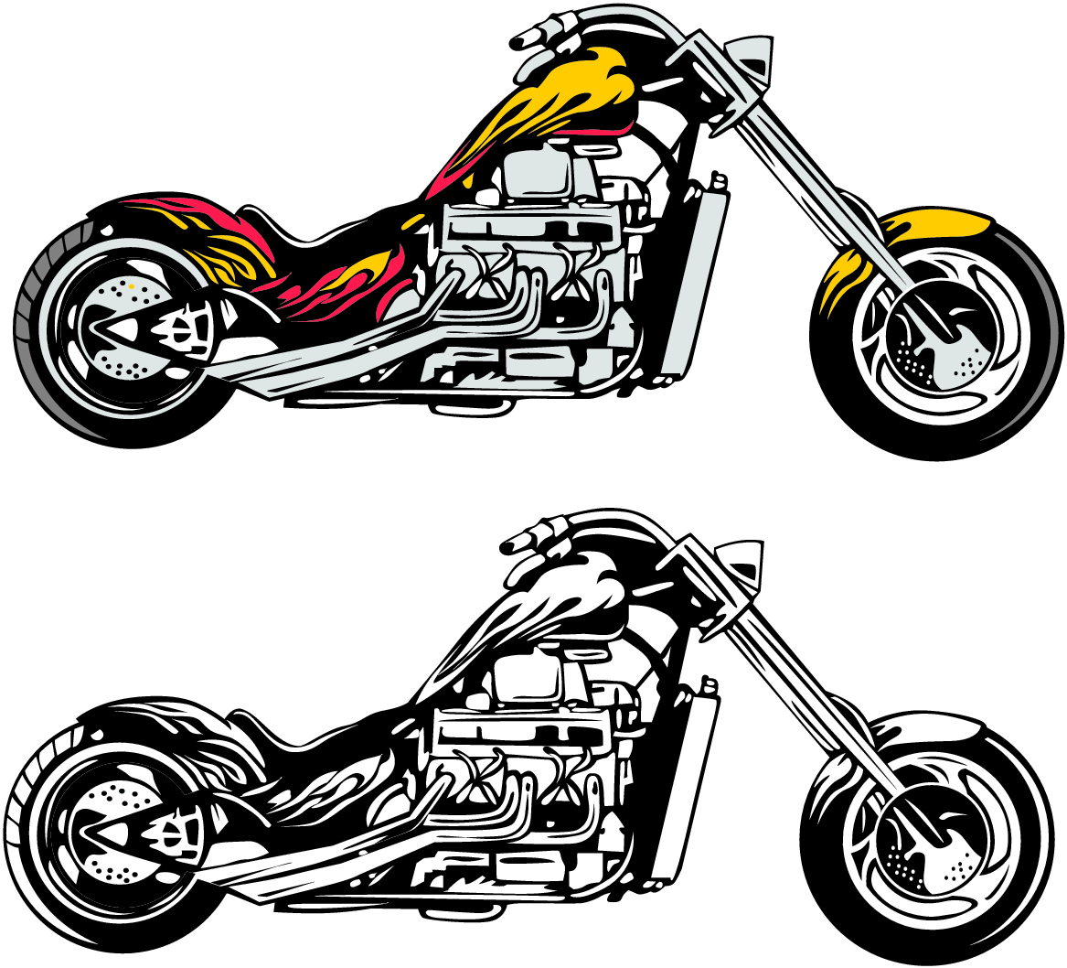 Free Motorcycle Clip Art