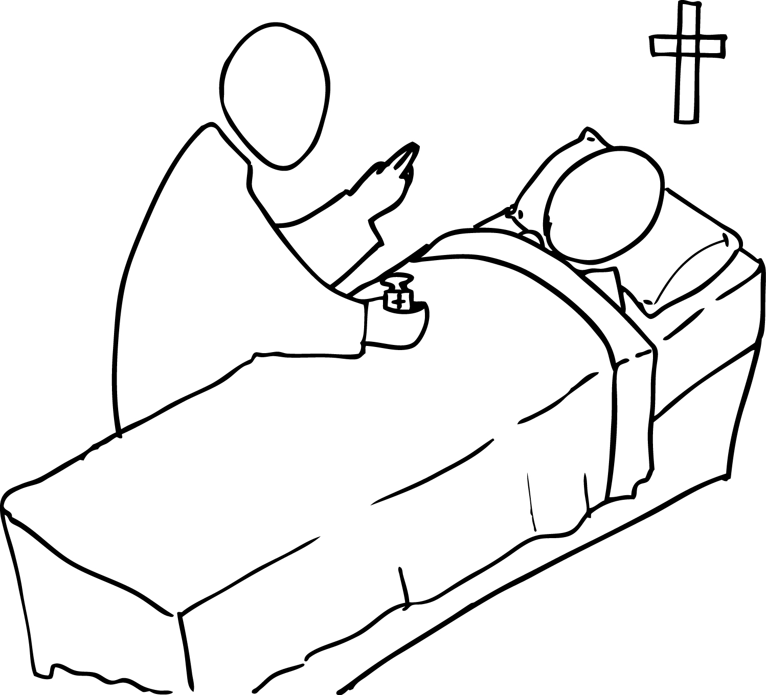 Anointing Of The Sick Clipart Images Amp Pictures
