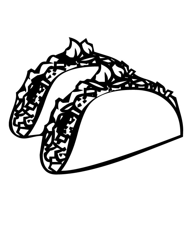 picture of a taco cliparts co