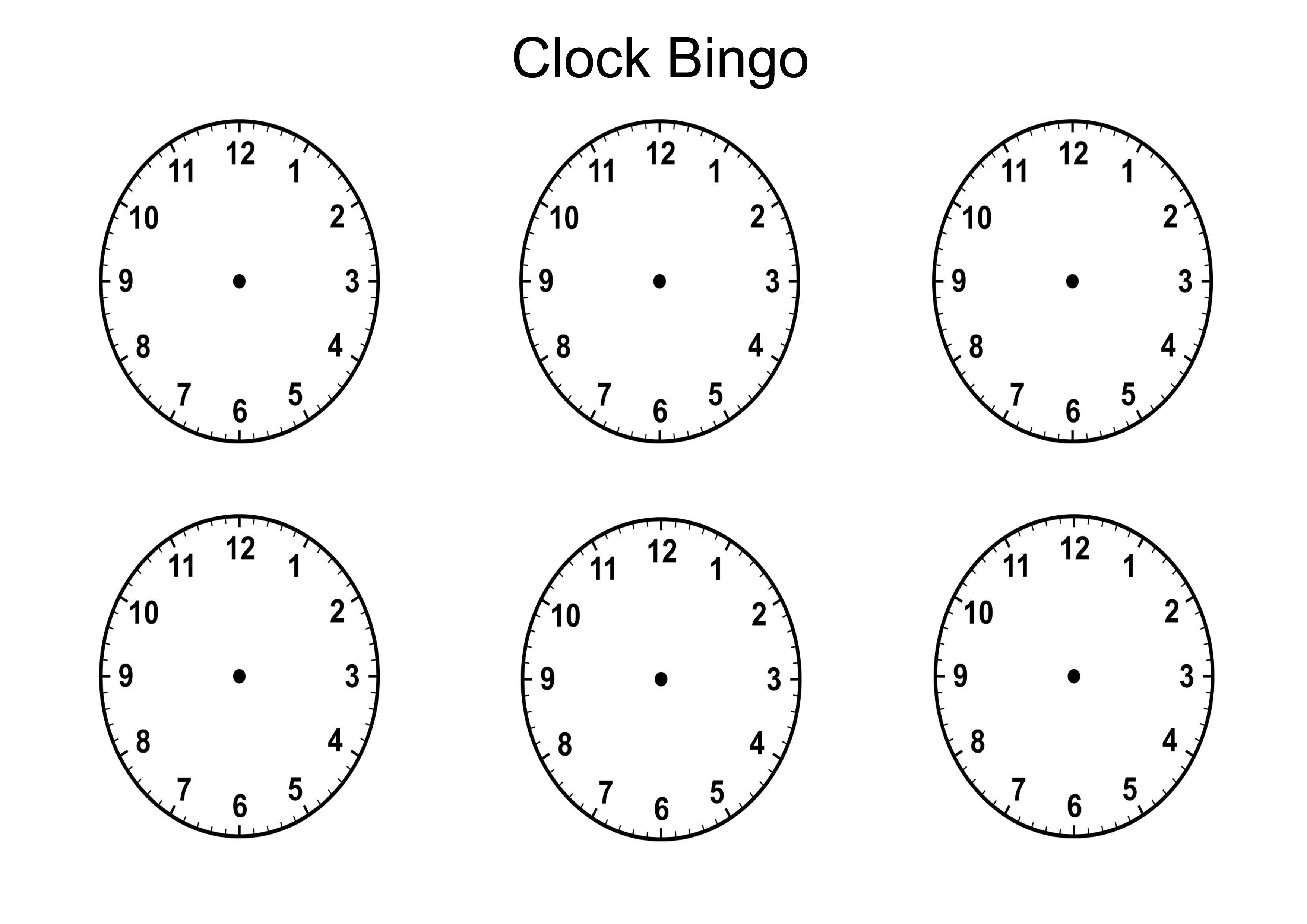 Clock Templates