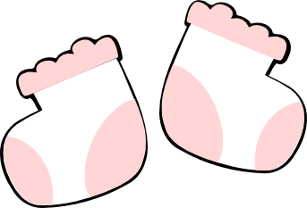 Baby Bootie Clipart - Cliparts.co (343 x 233 Pixel)