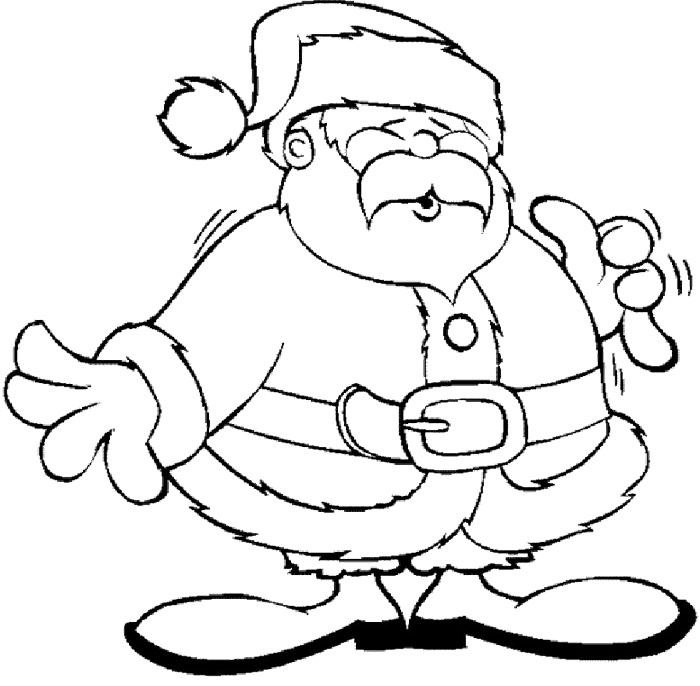 picture of santa claus face  cliparts.co
