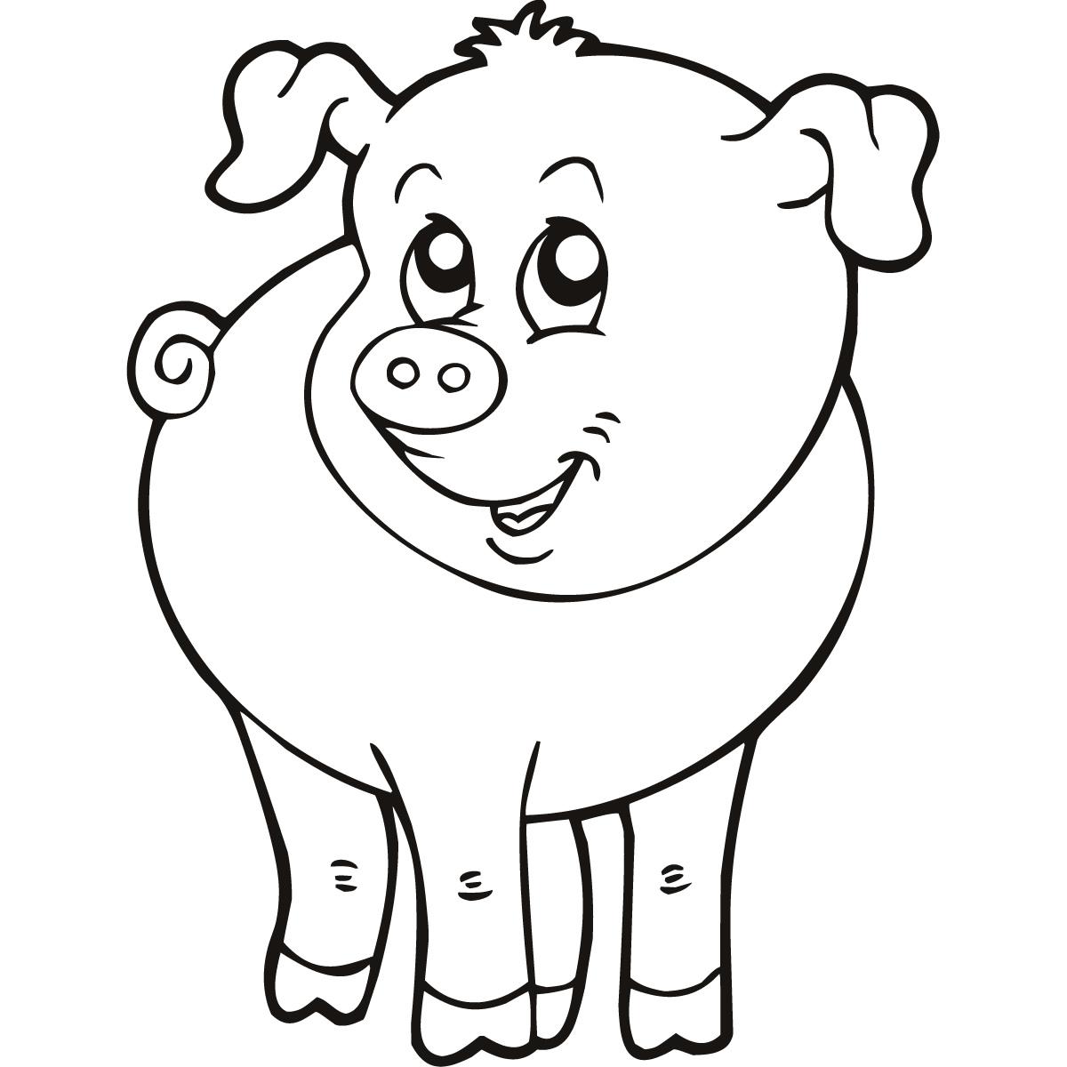 Farm Animal Drawings