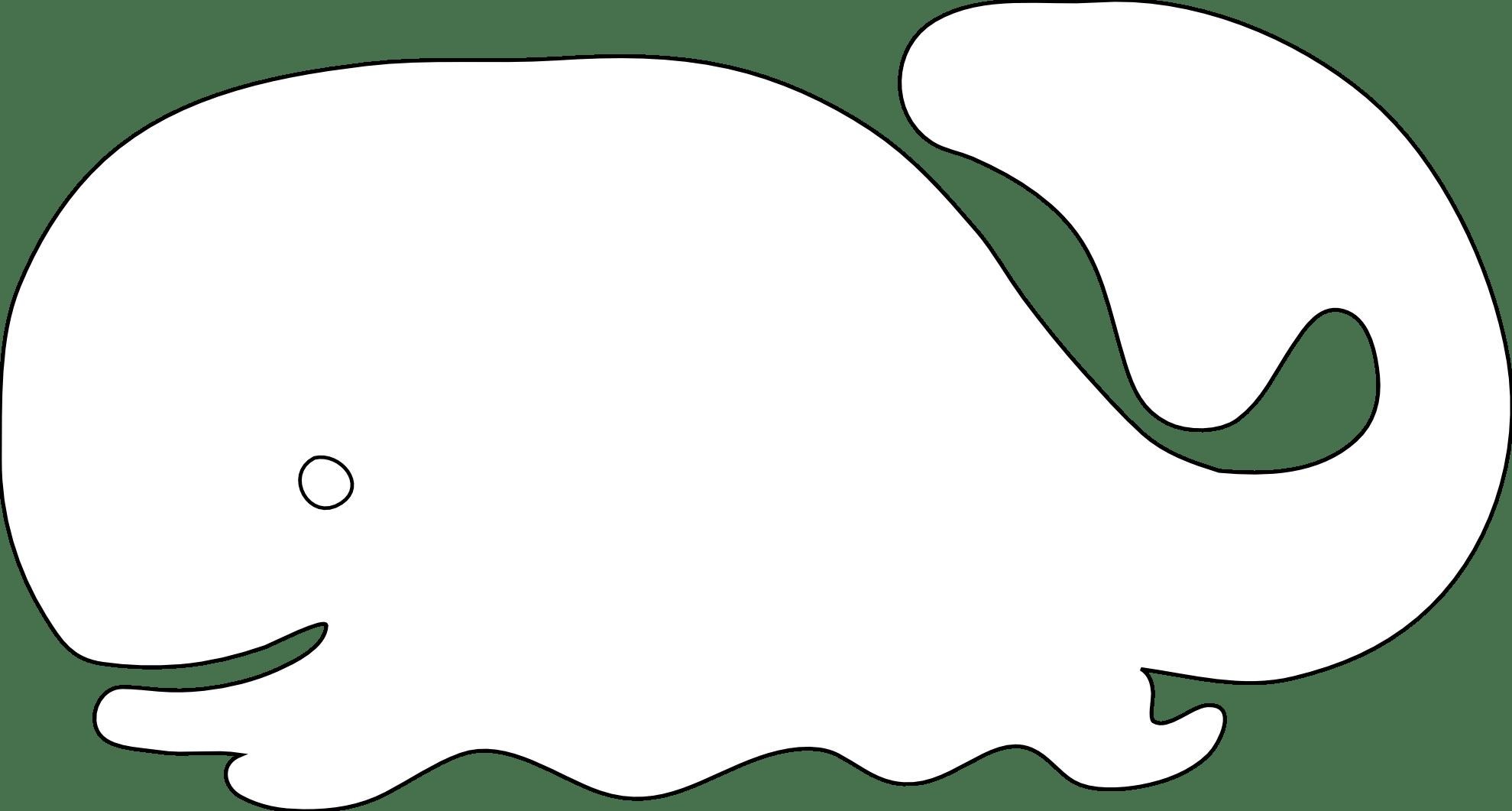 Cartoon Whale Clip Art