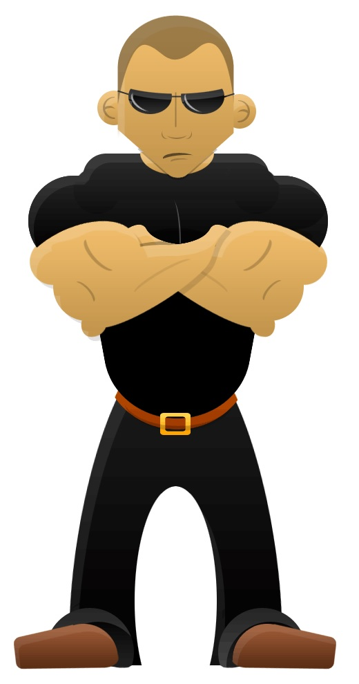 Security Guard Clipart
