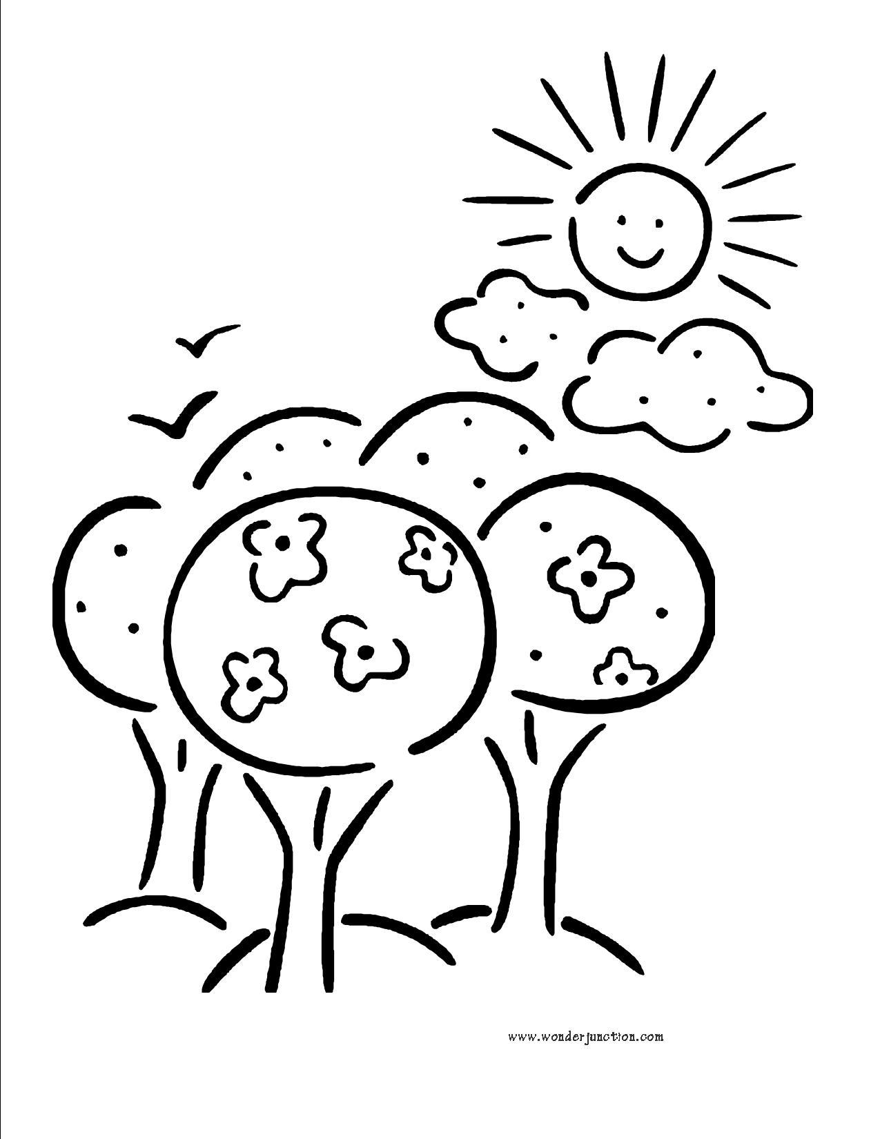 Sunny Day Clip Art