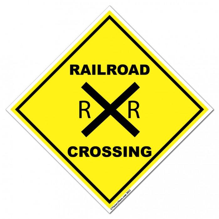 Railroad Crossing Sign - Cliparts.co (700 x 700 Pixel)