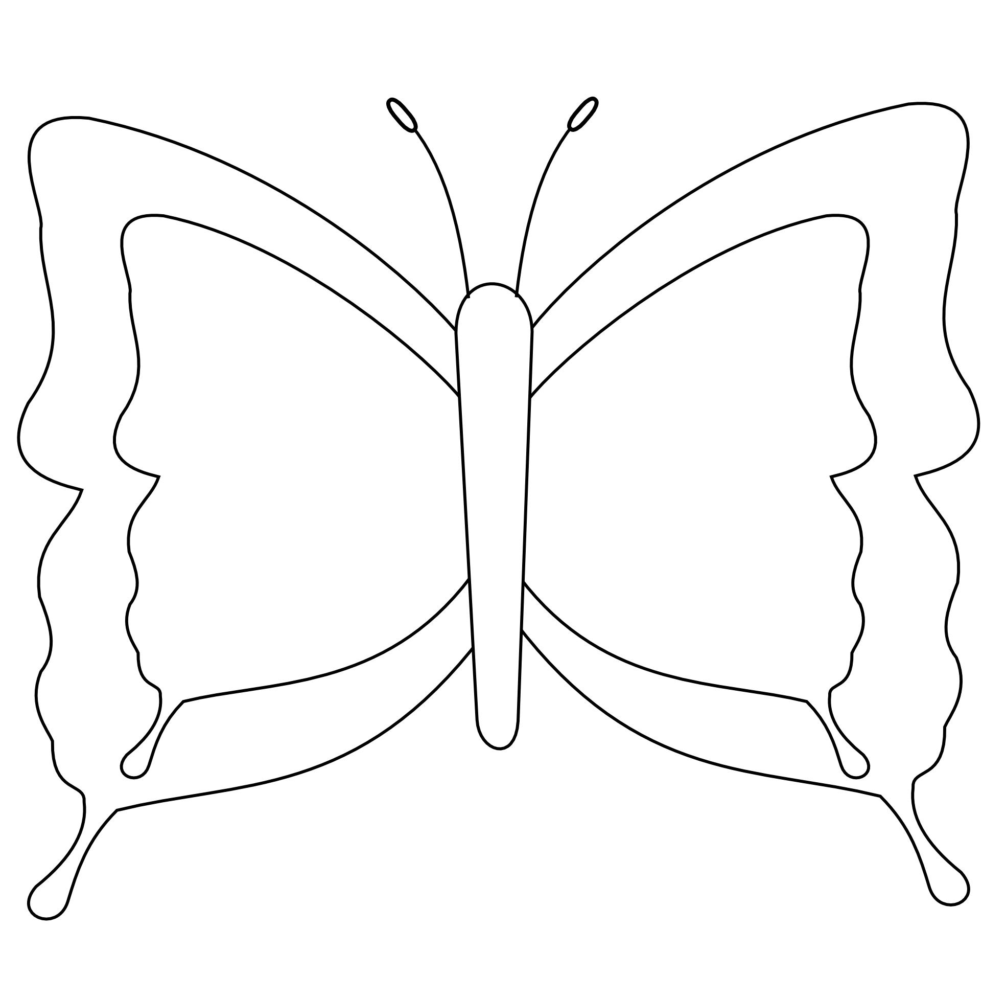 Black And White Butterfly Images