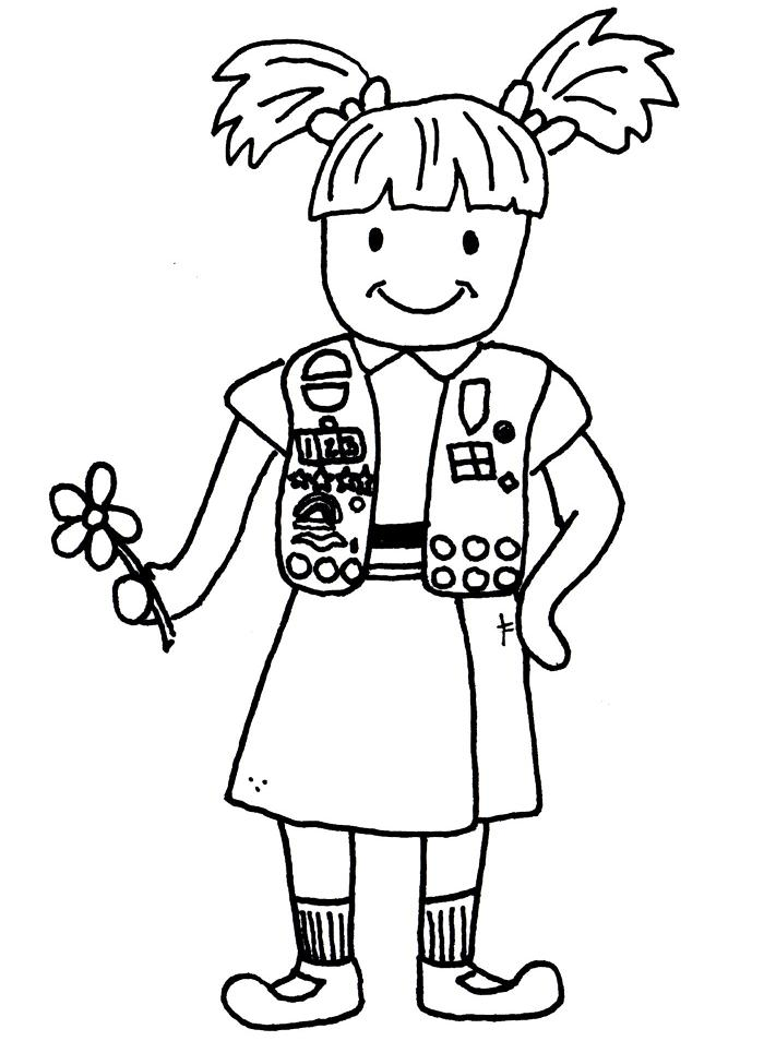 girl scout brownie clip art cliparts co